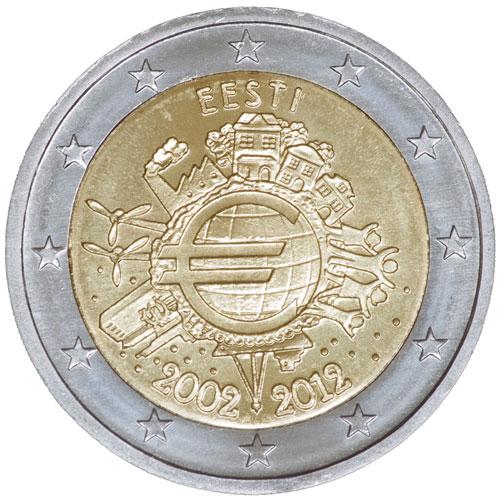 Eurosularaha kasutuselevõtu 10. aastapäev
