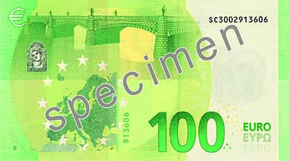 The 100-euro banknote