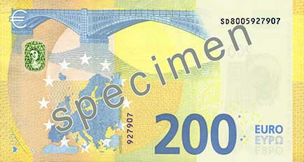 The 200-euro banknote