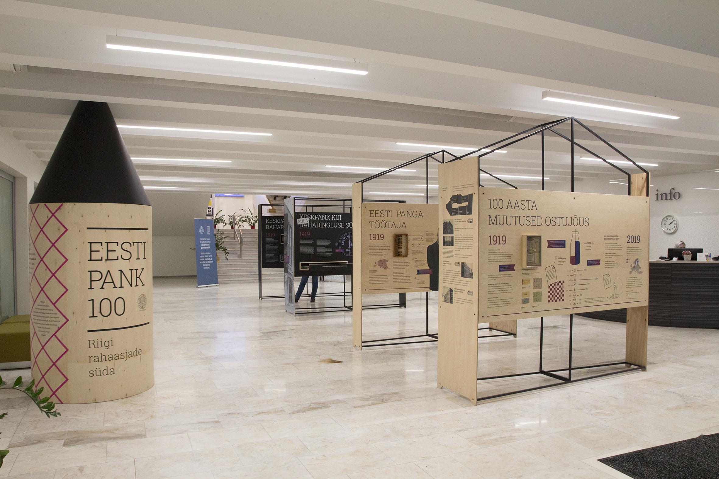 Eesti Panga rändnäitusega saab tutvuda Tartu Ülikooli raamatukogus