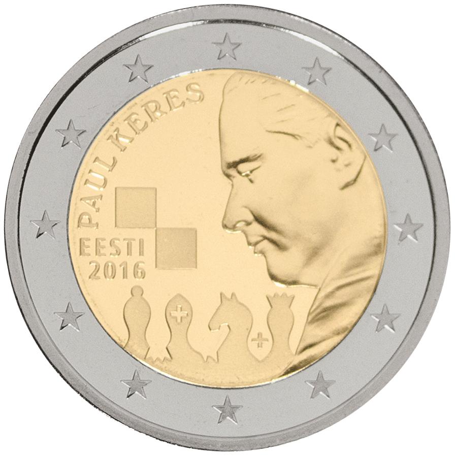 Paul Keresele pühendatud münt