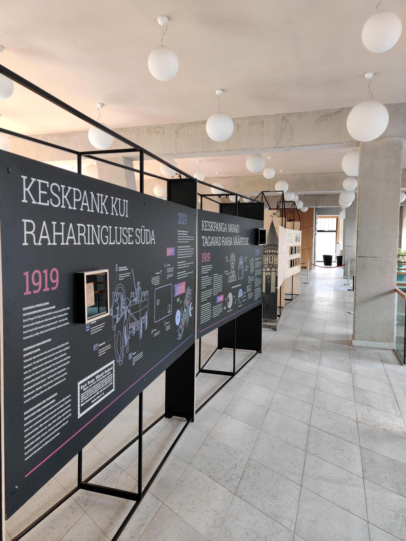 Eesti Panga rändnäitus Narvas