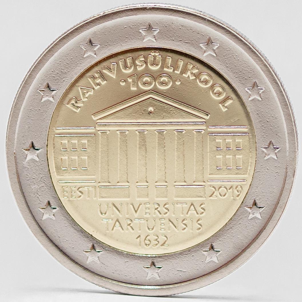 Rahvusülikooli 100. aastapäevale pühendatud 2eurone käibemünt