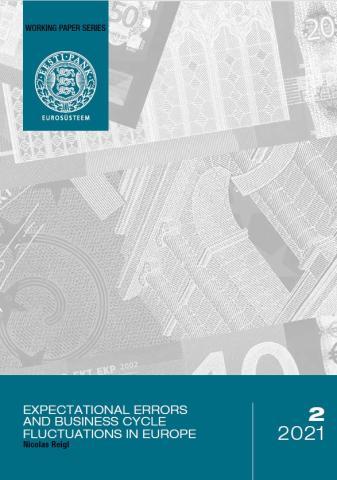 Publikatsiooni 2/2021 Nicolas Reigl. Vead ootustes ja majandustsükli kõikumised Euroopas kaanepilt