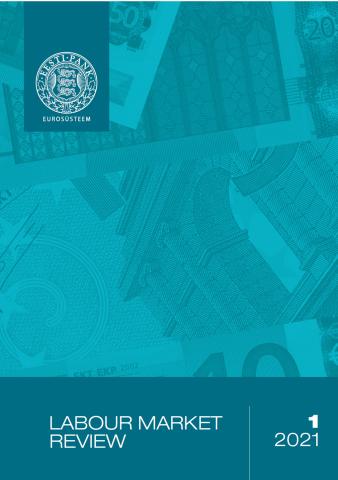 Publikatsiooni Labour Market Review 1/2021 kaanepilt
