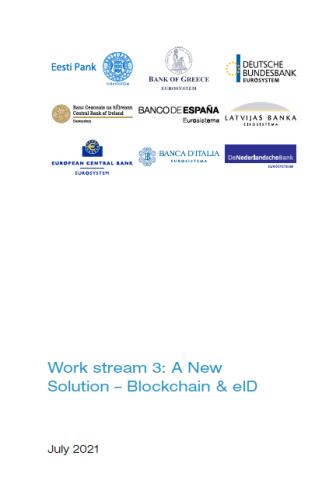 Publikatsiooni Work stream 3: A New Solution – Blockchain and eID kaanepilt