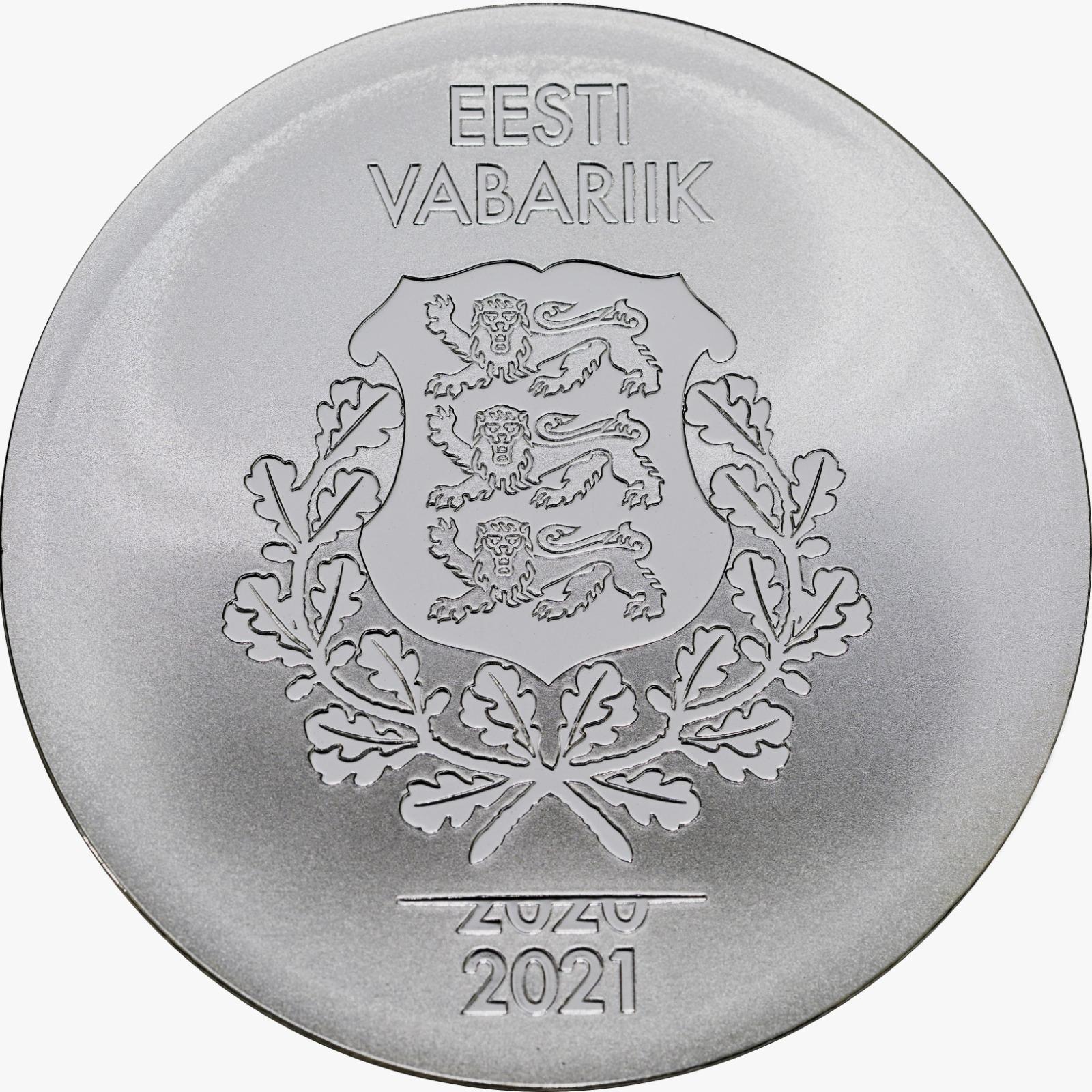 Tokyo olümpiamängude hõbemünt