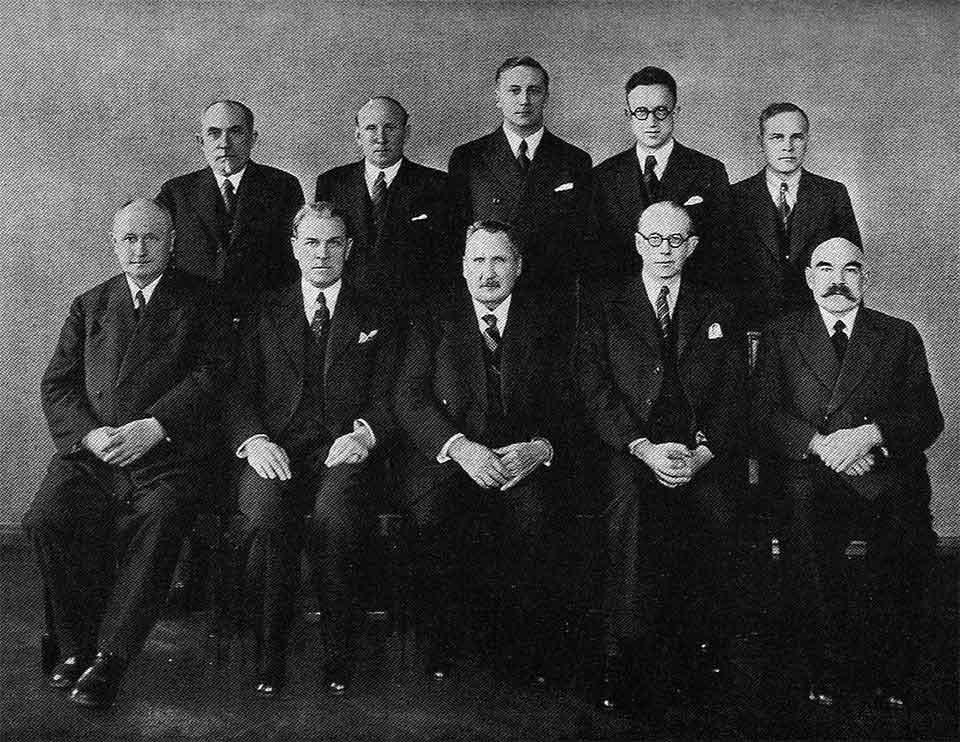 Eesti Panga juhatus 1938