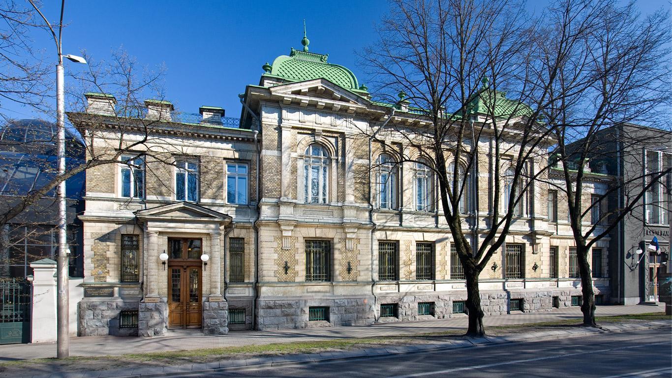Estonia pst 13 – endise Vene Riigipanga Reveli kontor