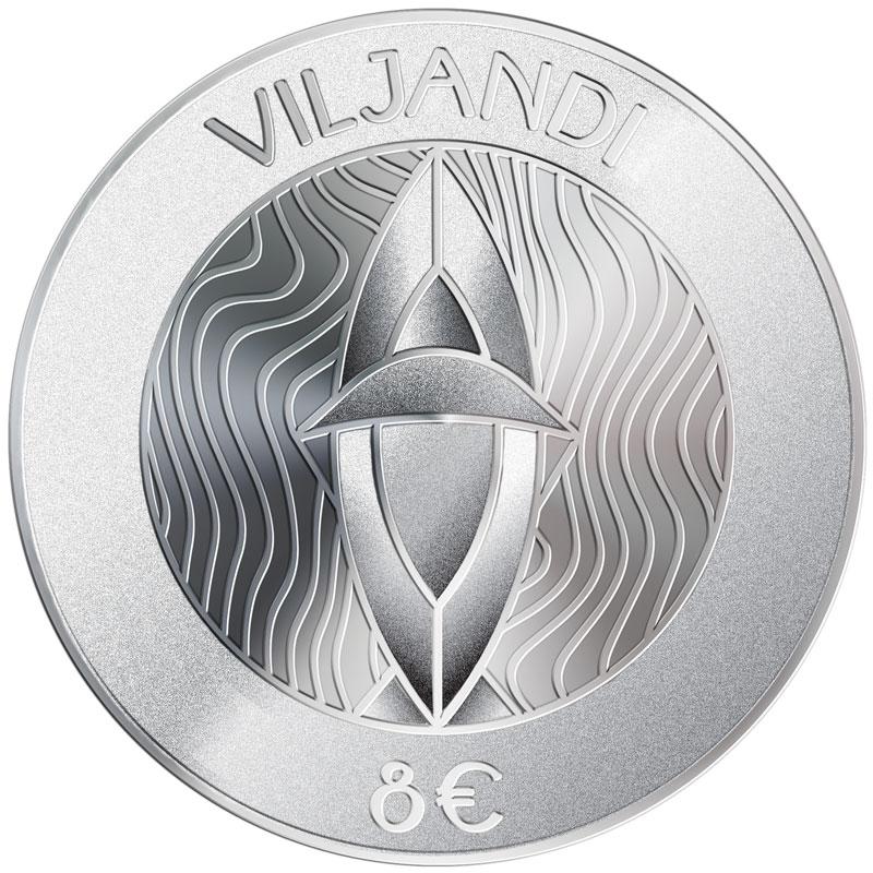Hansalinn Viljandile pühendatud hõbemünt